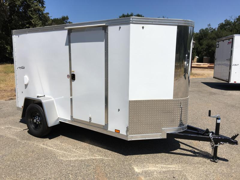 2017 Look Trailers Vision Vnose 5' x 10' Cargo / Enclosed Trailer