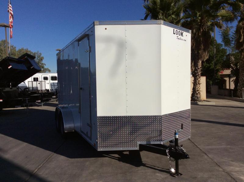2018 Look Trailers STLC 7' x 16' Enclosed Cargo Trailer