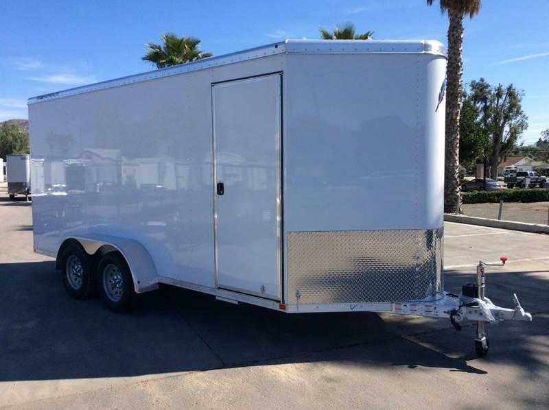 """2017 Featherlite 1610 6'7"""" x 16' Enclosed Cargo Trailer"""