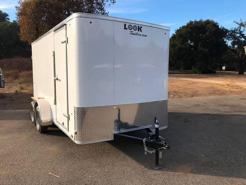2018 Look STLC 7' x 14' Enclosed Cargo Trailer