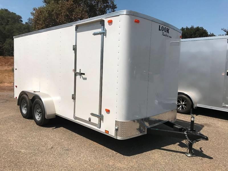 2018 Look STLC 7' x 16' Enclosed Cargo Trailer