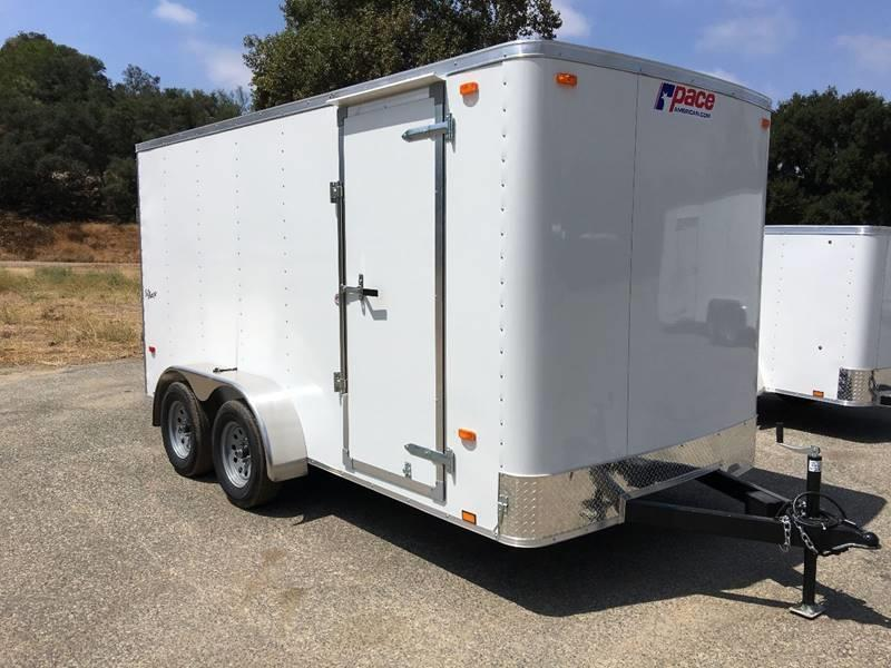 2018 Pace American Outback 7' x 14' Enclosed Cargo Trailer