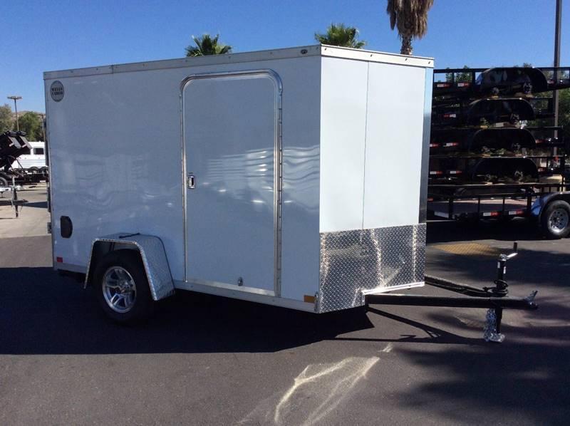 2018 Wells Cargo WCVG 6' x 10' Enclosed Cargo Trailer