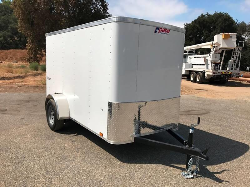 2018 Pace American 5' x 10' Outback Enclosed Cargo Trailer
