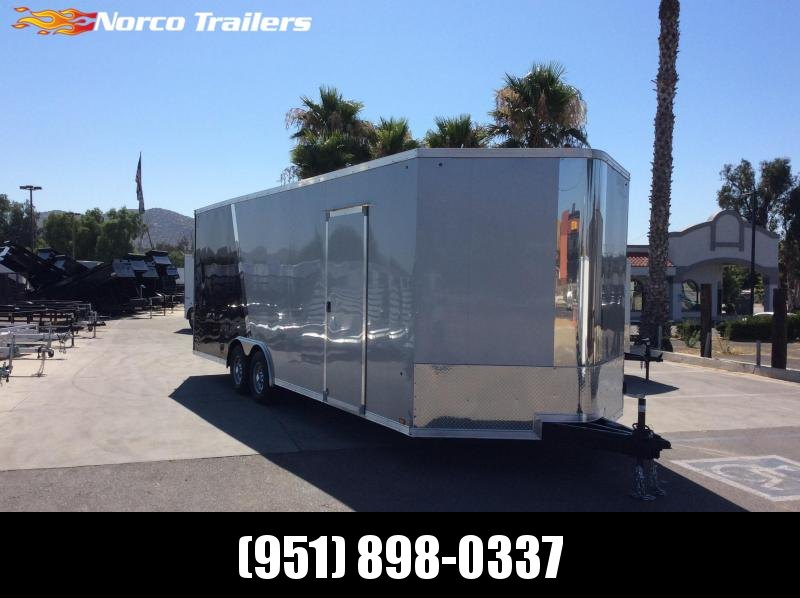 2020 Look Trailers Vision 8.5 x 24 Tandem Axle Car / Racing Trailer