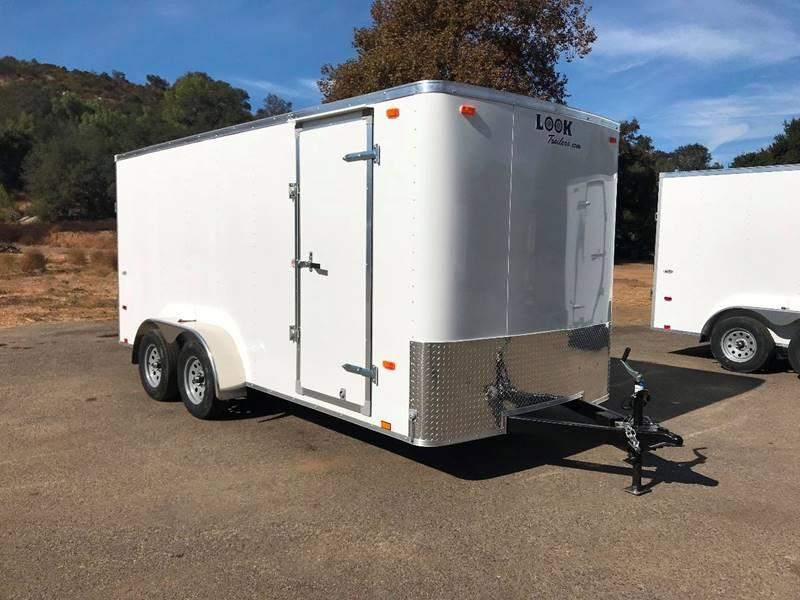 2018 Look STLC 7' x 16' Enclosed Cargo Trailer