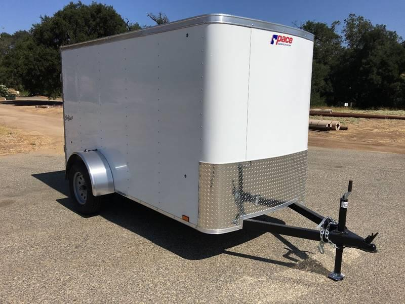 2018 Pace American Outback 5' x 10' Enclosed Cargo Trailer