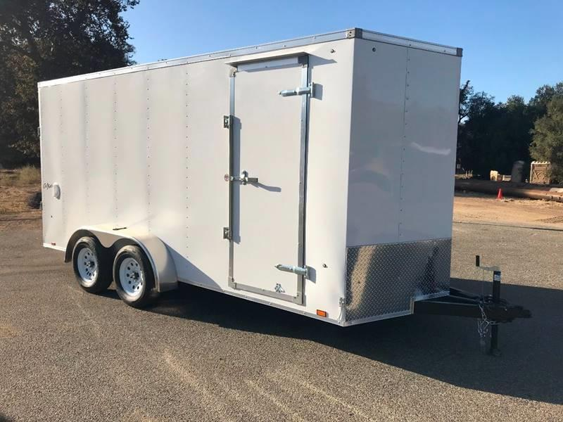 2018 Pace American VNose Outback 7' x 16' Enclosed Cargo Trailer