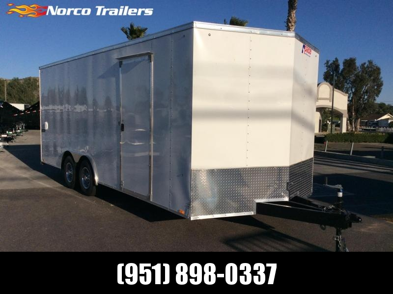 2019 Pace American Journey 8.5' x 20' Tandem Axle Car / Racing Trailer