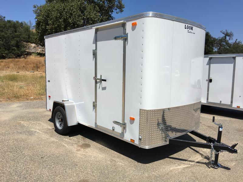 2018 Look Trailers STLC 6' x 12' Cargo / Enclosed Trailer