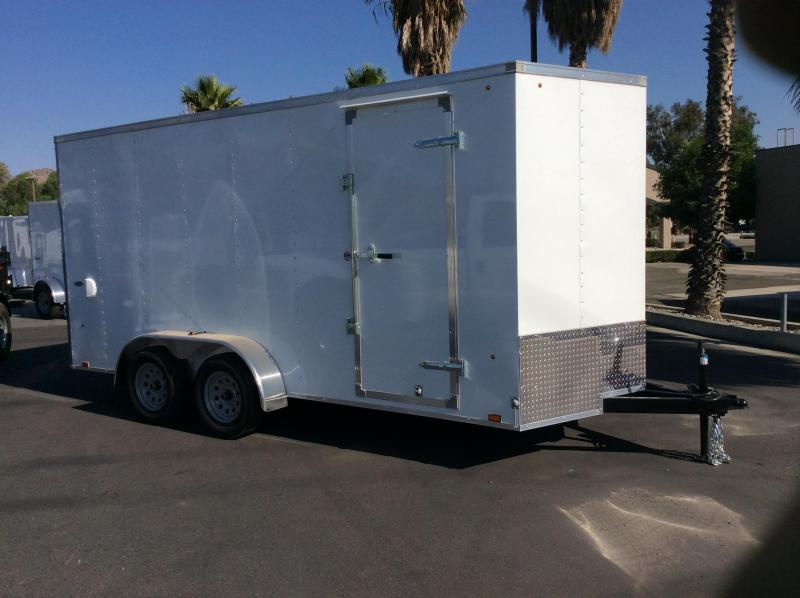 2017 Look Trailers STVLC 7' x 16' Cargo / Enclosed Trailer