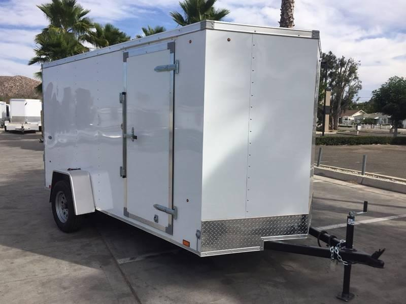 2017 Look Trailers STVLC Vnose 6' x 12' Enclosed Cargo Trailer