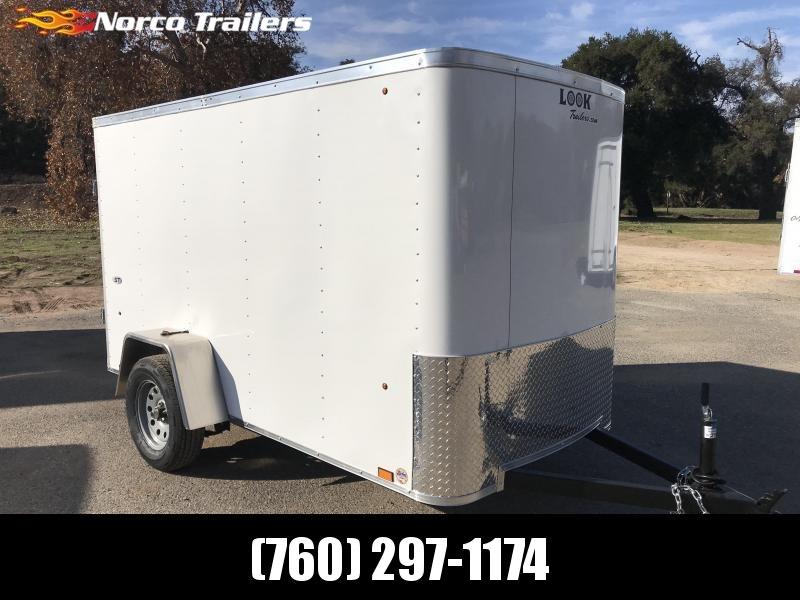 2019 Look Trailers STLC 5' x 10' Enclosed Cargo Trailer