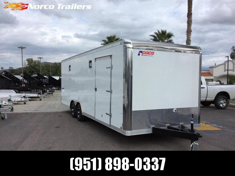 2019 Pace American Shadow GT 8.5' x 24' Tandem Axle Car / Racing Trailer