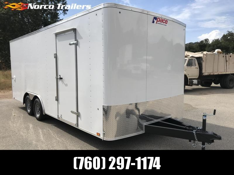 2020 Pace American OB 8.5x20 Car / Racing Trailer