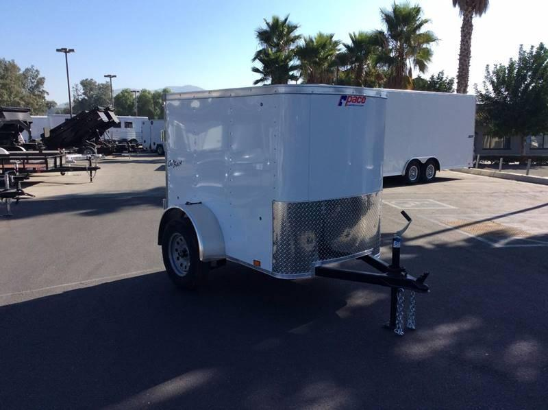2018 Pace American 4' x 6' Outback Enclosed Cargo Trailer
