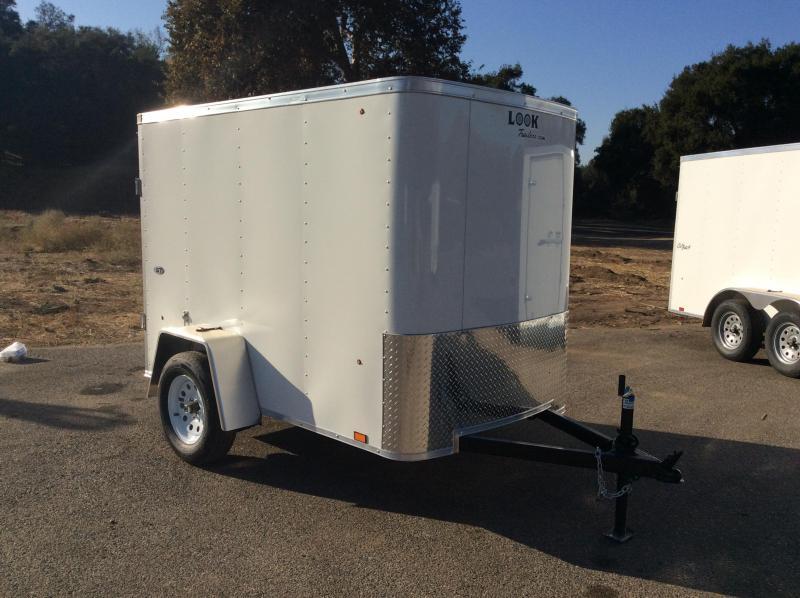2018 Look Trailers STLC 5' x 8' Enclosed Cargo Trailer
