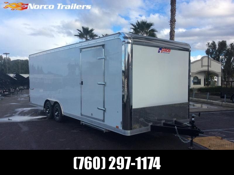 2019 Pace American Shadow 8.5 X 24 Tandem axle Car / Racing Trailer