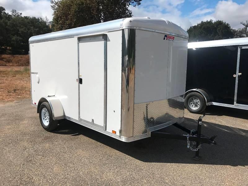 2018 Pace American Cargo Sport 6' x 12' Enclosed Cargo Trailer