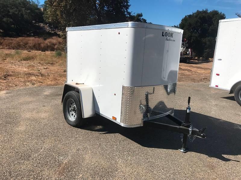 2018 Look STLC 4' x 6' Enclosed Cargo Trailer