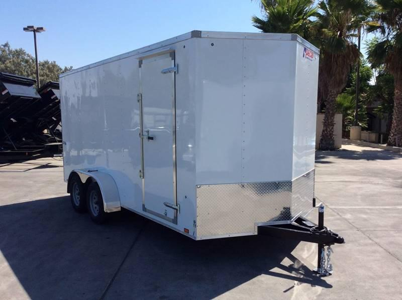 2018 Pace American V-nose Outback 7' x 16' Enclosed Cargo Trailer