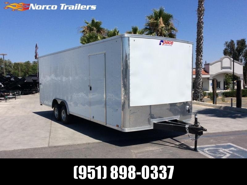 2018 Pace American Journey 8.5' x 24' Tandem Axle Car / Racing Trailer