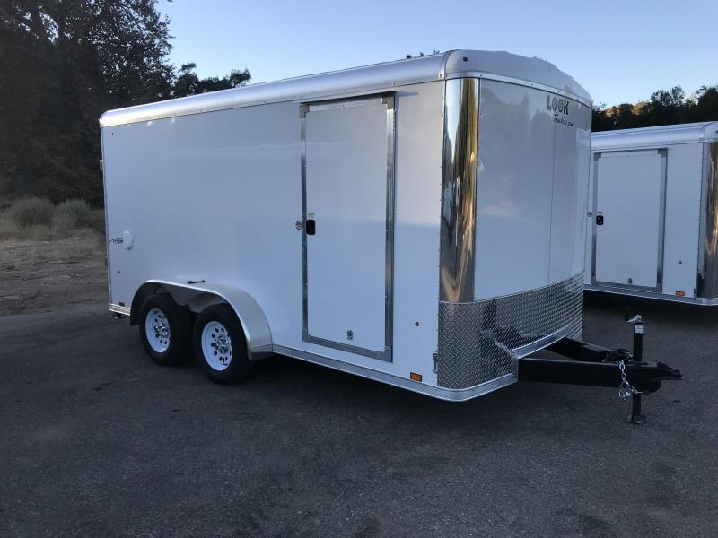 2018 Look Trailers Vision 7' x 14' Round Top Enclosed Cargo Trailer