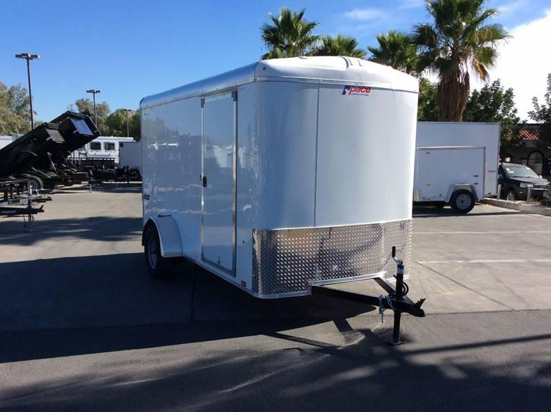 2018 Pace American Journey 6' x 12' Enclosed Cargo Trailer