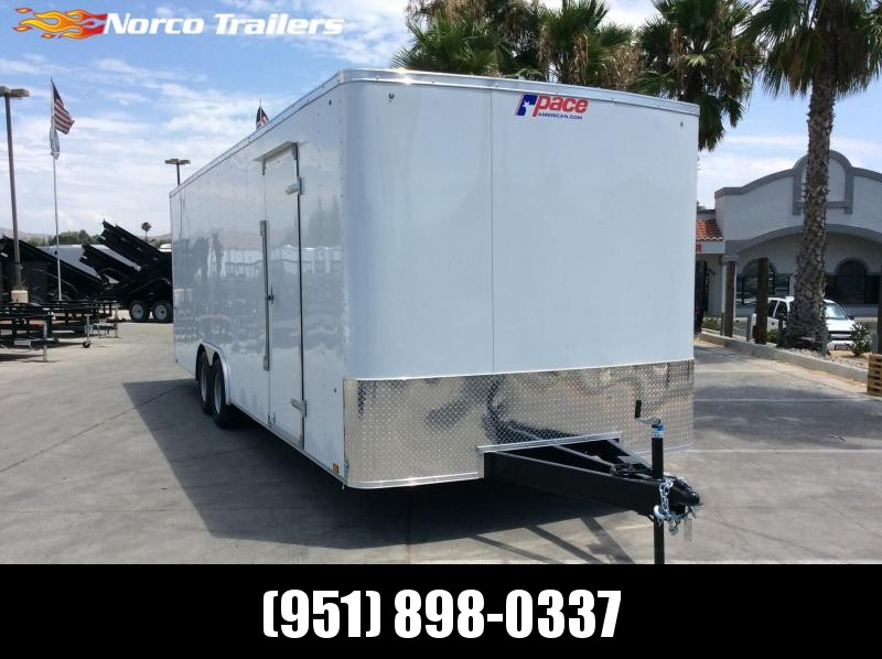 2020 Pace American Outback 8.5 x 24 Tandem Axle Car / Racing Trailer