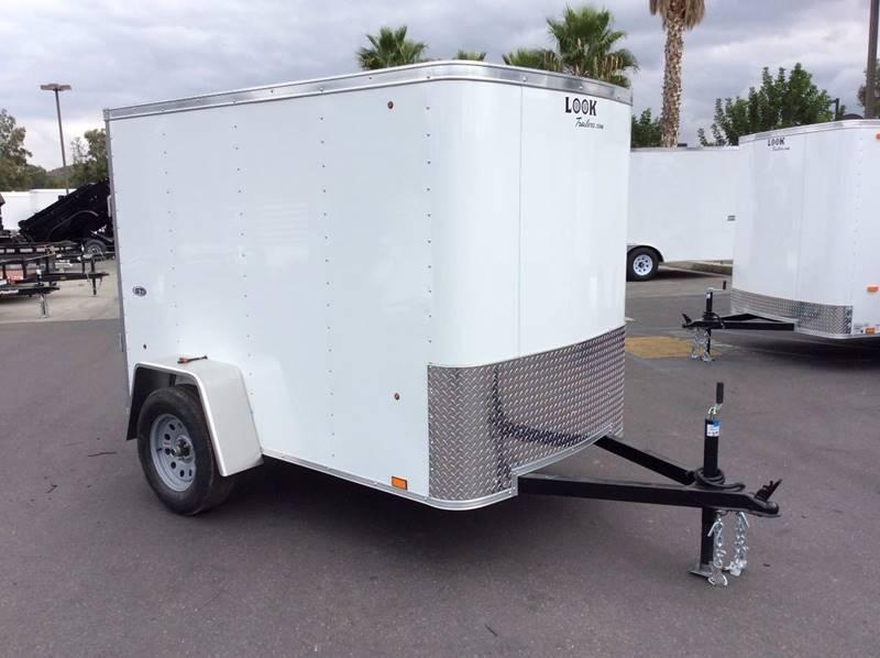 2018 Look STLC 5' x 8' Enclosed Cargo Trailer