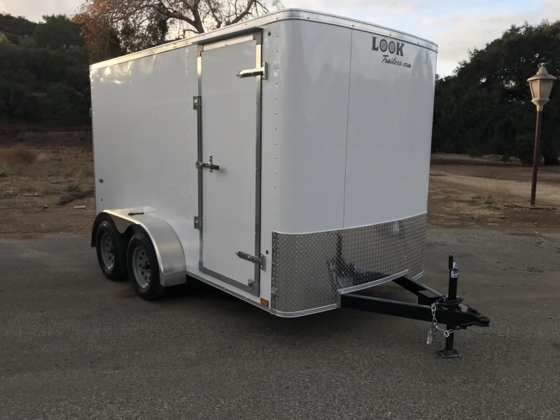 2018 Look Trailers STLC 6' x 12' Enclosed Cargo Trailer