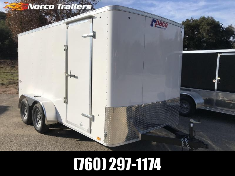 2019 Pace American Outback 7' x 14' Enclosed Cargo Trailer