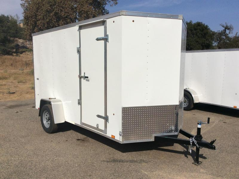 2018 Look Trailers STVLC Vnose 6' x 12' Enclosed Cargo Trailer