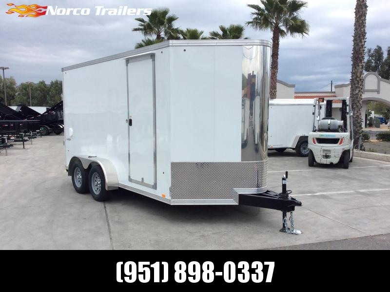 2019 Look Trailers Vision 7' x 14' Tandem Axle Enclosed Cargo Trailer