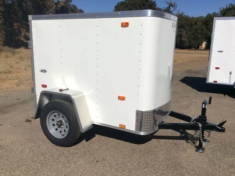 2018 Look STLC 4' x 6' Enclosed Cargo Trailer