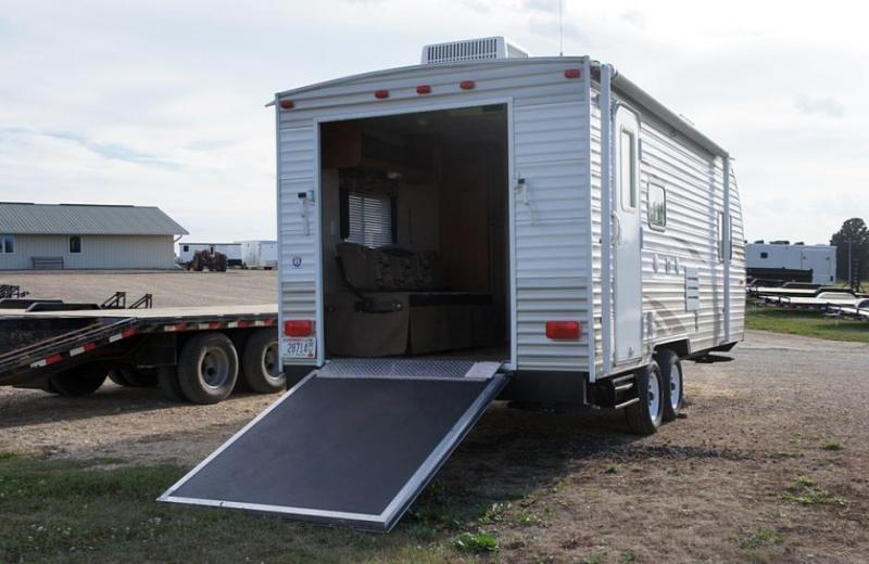 Model Enclosed Camper Trailer  Bike  Boat