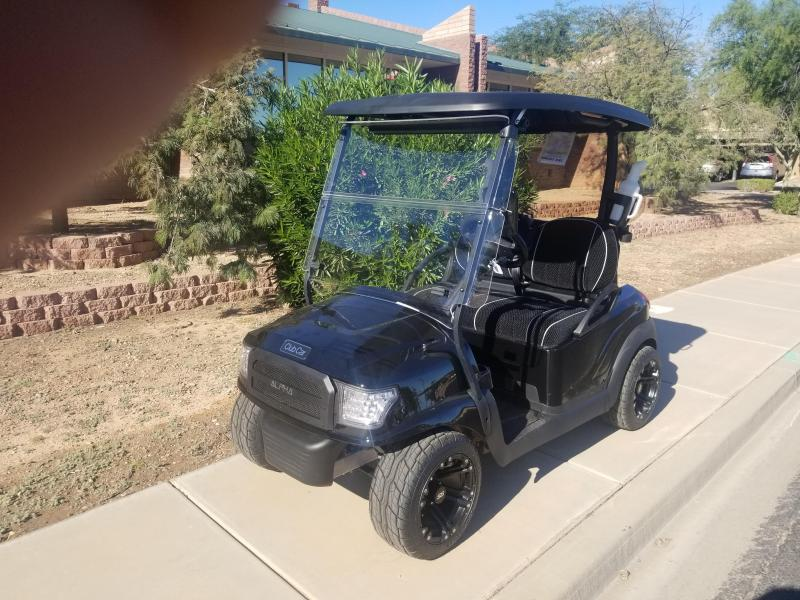2016 Club Car Alpha Golf Cart