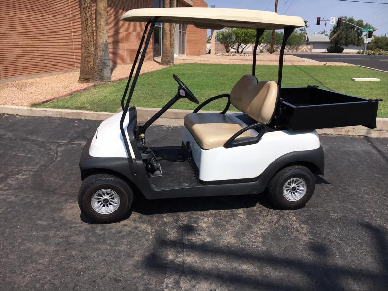 2015 Club Car Precedent Cargo Box Golf Cart