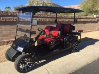 2016 Star Electric Vehicles 48-42 Red Hawk Combo Golf Cart