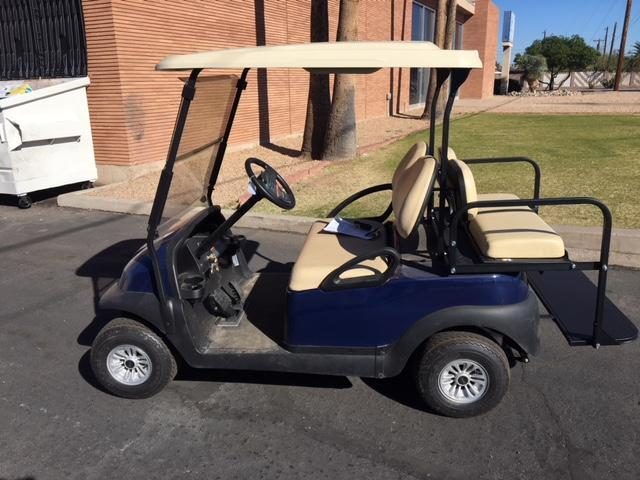2017 Club Car Precedent 4-passenger flip Golf Cart