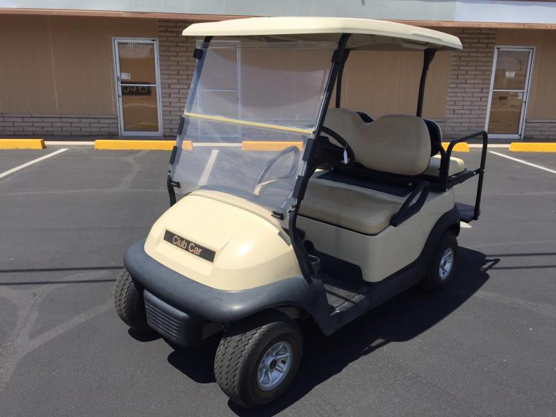 2015 Club Car Precedent 4-passenger flip Golf Cart