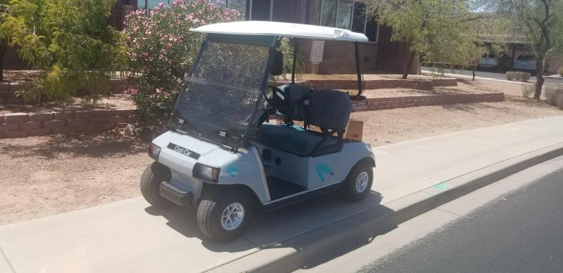 2002 Club Car DS Golf Cart