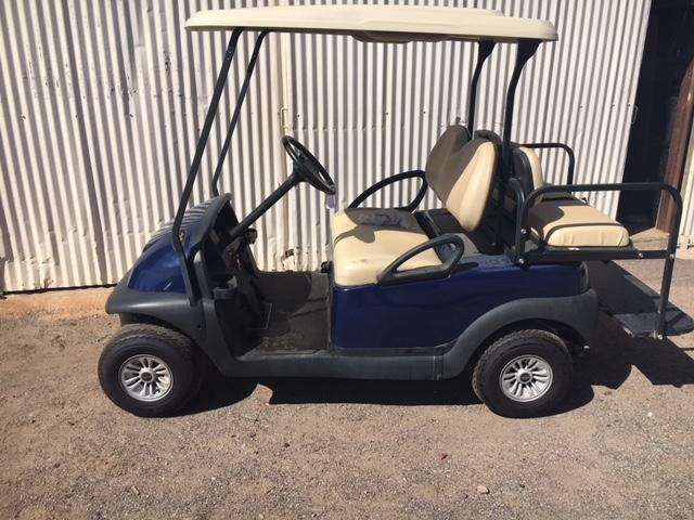 2017 Club Car Precedent 4-pass Flip Golf Cart