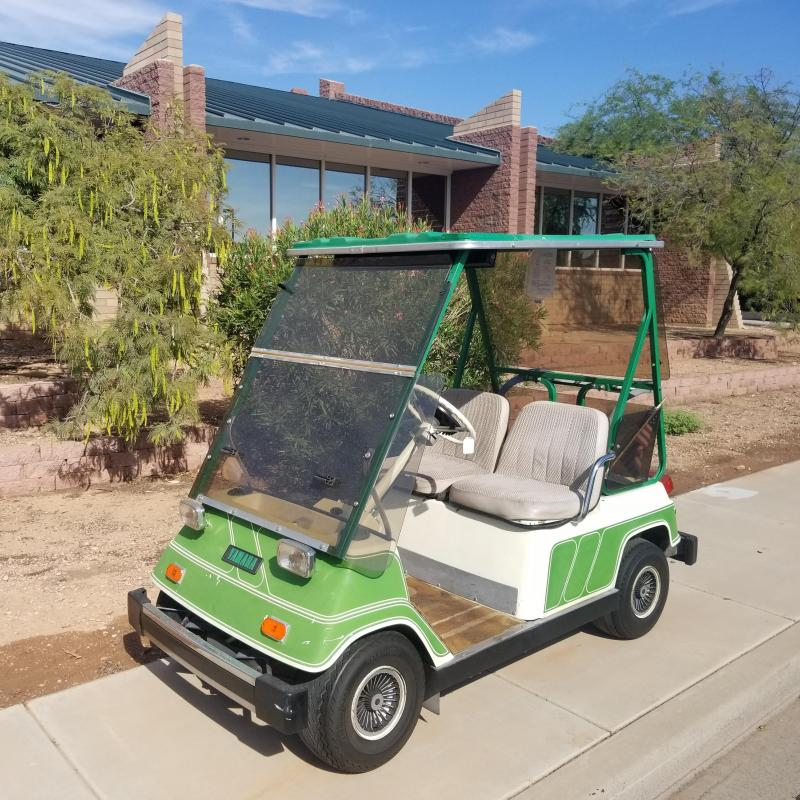 1980 Yamaha G1 Golf Cart
