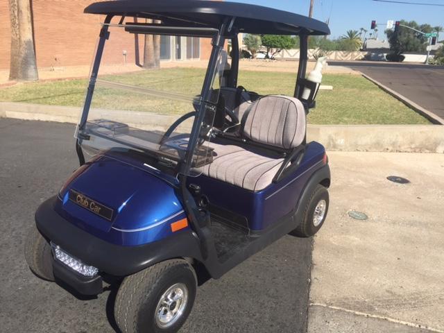REBUILT 2014 Club Car Precedent Golf Cart