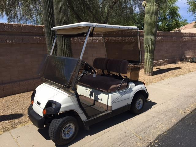 1998 Yamaha G16 Golf Cart