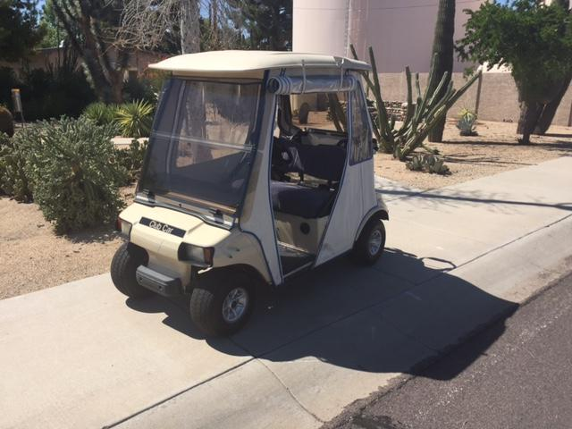 2001 Club Car DS Golf Cart