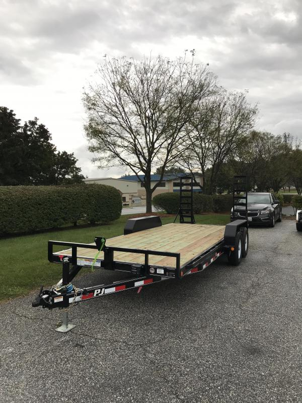 "2019 PJ Trailers 20' x 5"" Channel Equipment Trailer"