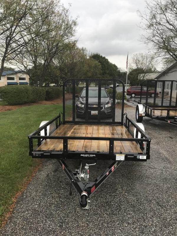 "2019 PJ Trailers 8' x 72"" Sngl Axle Channel Utility Trailer"