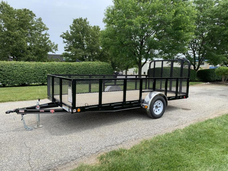"2019 PJ Trailers High Side 14' x 77"" Utility Trailer"